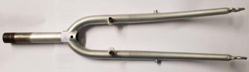 Gewindelänge 27mm Schaftlänge 135mm Fahrradgabel 28 silber