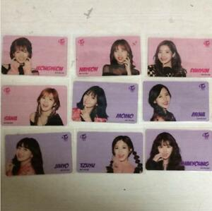Details about TWICE Japan Transparent Photocard One More Time Ver  300  Limited full set