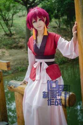 Anime Akatsuki no Yona Cosplay Costume Whole set Yona Adult Dress
