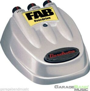 Danelectro-D-2-FAB-Overdrive-Guitar-Effects-Pedal