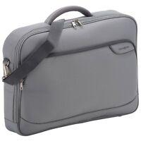 "Samsonite Monaco ICT Office Bag/Laptop Bag/Padded Briefcase 18.4"" Black / Grey"