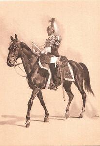 CARTOLINA-MILITARE-CARABINIERI-CORAZZIERE-TROMBETTIERE-G-GALA-1894-ALTEROCCA
