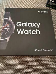 * Samsung Galaxy Watch SM-R800 46mm Silver Case Bluetooth Wifi GPS