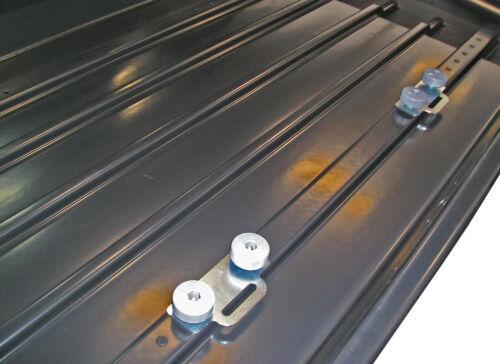 MODULA Case System Ciao 430 schwarz Dachbox 175x80cm 430l Dachkoffer MOCS0332