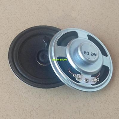 2pcs 57mm 8Ohm 8Ω 0.5W Full Range Audio Speaker Stereo Woofer Loudspeaker Horn