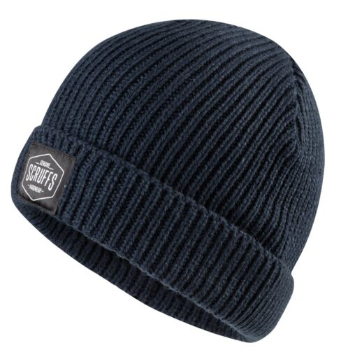 Warm Winter Workwear Scruffs Knitted Fisherman/'s Beanie Hat Various Colours