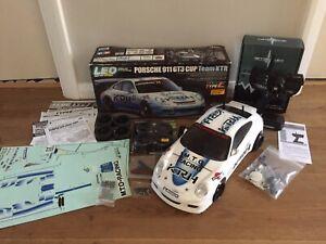 TAMIYA-PORSCHE-911-GT3-CUP-TEAM-KTR-CONTROLLER-CHARGER-LED-LIGHT-UNIT-CAR-58422