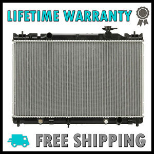 new radiator for toyota camry 2002 2006 2 4 l4 lifetime warranty 5 8 thick. Black Bedroom Furniture Sets. Home Design Ideas
