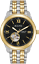 Bulova-Men-039-s-Automatic-98A168-Open-Heart-Black-Dial-Two-Tone-Bracelet-42mm-Watch