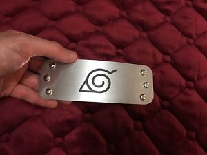 Best Naruto Headband Plate Only Looks Like Metal Naruto Cosplay Get