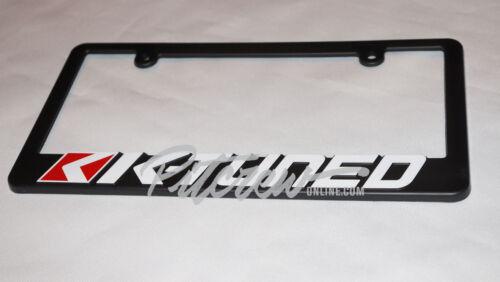 2 K-Tuned License Plate Frames universal k20 k24 eg ek dc2 tsx