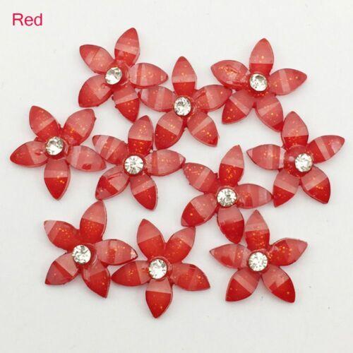 Handmade Colorful For Phone//wedding Resin Flowers Crafts Flatback Scrapbooking