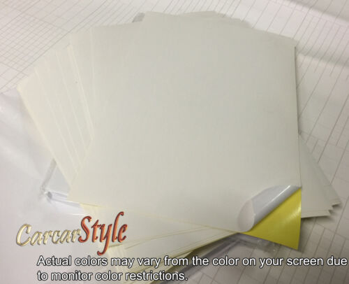 20x A4 White//Cream【MATT】Self Adhesive Sticker Paper Sheet Address Label UK Stock
