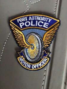 NYPD PAPD Port Authority Police Motor Officer Patch