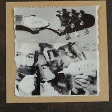 POP-KARD feat GIBSON FLYING V HEADSTOCK REPAIR cutting 15x15cm greeting card aap