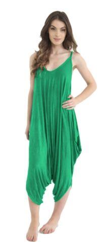 New ladies//Women Jumpsuit//Playsuit Romper Harem Lagen look Cami Dress Sizes 8-28
