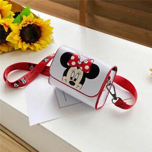 Baby Kids Children Girls Disney Minnie Mickey Handbag Mini Messenger Bag Toy