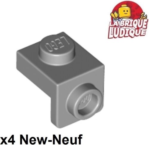 Lego 4x Clamp 1x1-1x1 support 90 ° Skin Grey//Light Bluish Gray 36841 NEW