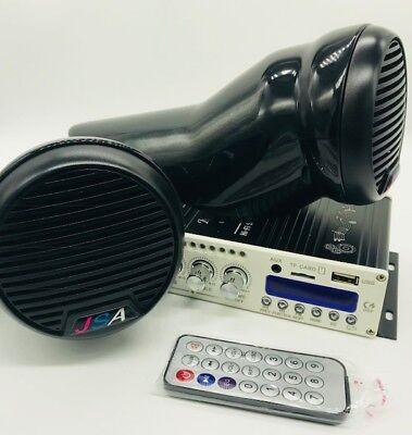 JETSKI 2 SPEAKER KIT AMP BLUETOOTH SYSTEM UNIVERSAL FIT SEADOO SPARK DIY