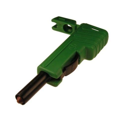 Stecker SLS200 Hirschmann 4mm Schiebehülsensystem schrauben 2,5mm² grün 742279