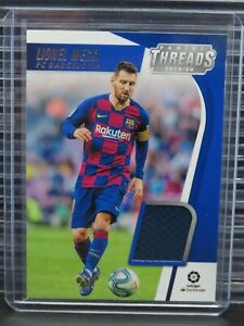 2019-20 Chronicles Threads Lionel Messi Jersey Relic Card #TH-LM Barcelona L89