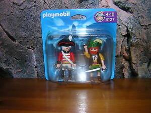 ( A 1 ) 5127  Duo - Pack Rotrock Soldat und Pirat  NEU / OVP