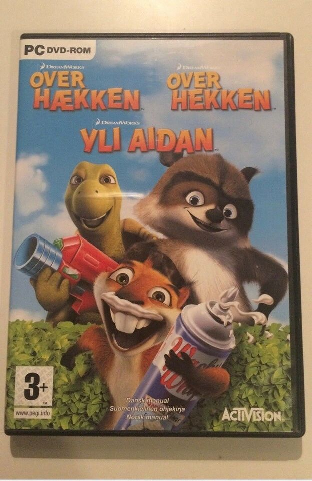 Over hækken, til pc, adventure