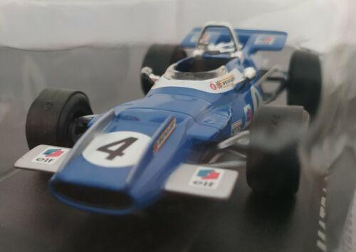 1//43 MATRA MS80 F1 FORMULA 1 1969 JACKIE STEWART COCHE DE METAL A ESCALA
