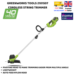 String Trimmer Grass Cutter Brushless Variable Speed Light Weight Tool Only