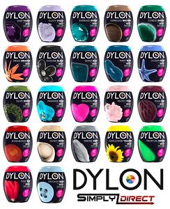 DYLON-350g-MACHINE-Includes-SALT-hand-wash-Clothes-Fabric-Dye