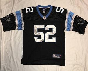 Details about Carolina Panthers Jersey Jon Beason Size 48 Reebok Onfield