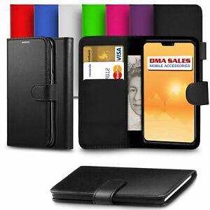 Pour-Nokia-3-1-Plus-Premium-en-Cuir-Portefeuille-Livre-Etui-Housse-avec-emplacements-de-carte