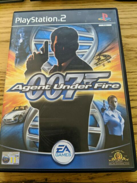 James Bond 007: Agent Under Fire (Sony PlayStation 2, 2001) - PAL