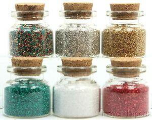 Holiday Glitter Colors Set - 311-M-0619 - German Glass Glitter