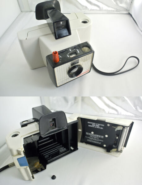 (prl) Polaroid Land Camera Swinger Model 20 Spare Part Pezzi Ricambio As It Is Et D'Avoir Une Longue Vie.