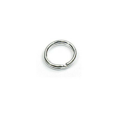 Sterling Silver 5mm, 6mm or 7mm Split Rings - Choose Size & Quantity