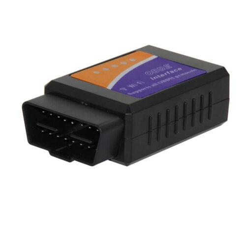 Wifi elm327 Wireless OBD2 Auto Scanner Adapter OBDII//EOBD Scan tool ELM 327