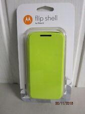 Motorola Flip Shell Hülle Case Cover für Moto G erste Generation -  Lemon-Lime