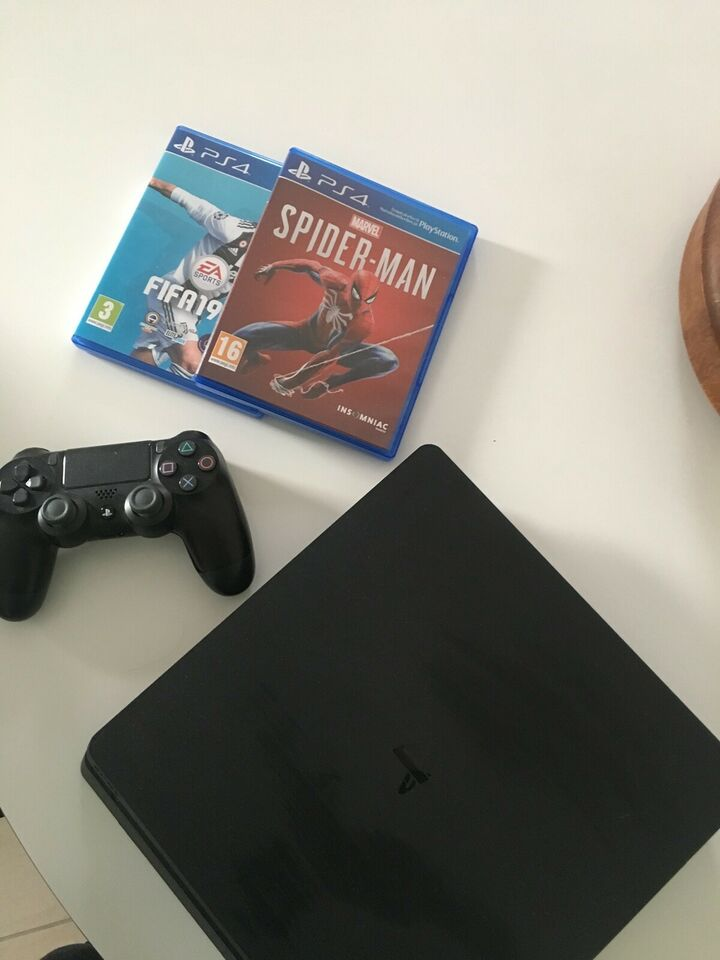 Playstation 4, Slim 500GB, Perfekt
