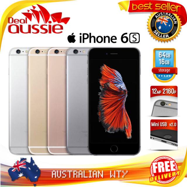 APPLE iPHONE 6S 16GB 64GB 128GB 100% UNLOCKED (100% ORIGINAL & AUTHENTIC APPLE)
