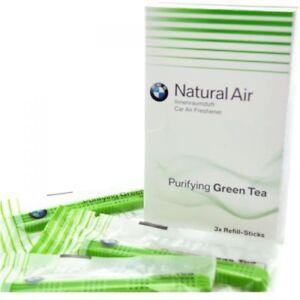 Original Bmw Parfum Intérieur Nachfüll Set Purifiant Green Tea Lot