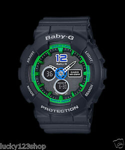 BA-120-1B-Black-Leopard-Casio-Baby-G-Analog-Digital-Display-Watches-Women-039-s-100M