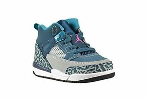 4dadb92b122 Nike Air Jordan Spizike Toddler Space Blue Fusion Pink Grey Black  317701-407 NIB Schoenen