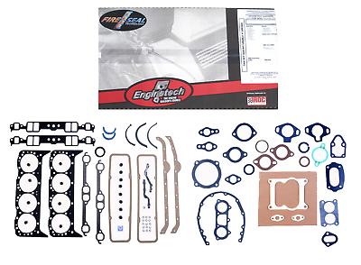 Full Engine Performance Gasket Set for Chevrolet 5.7L 350 383 w// 2 Pc Rear Seal