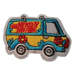 Scooby Doo and the Mini mystery Machine Iron On Patch Sew on Transfer Small