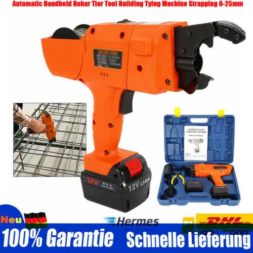 12V Automatische Rebar Tying Maschine Stahlband Bindemaschine Plastic Metal DE