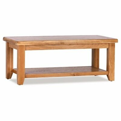Otago Large Oak Coffee Table For Living Or Dining Room Free Uk Delivery Ebay