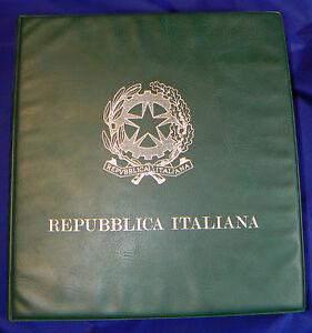 NC-REPUBBLICA-ITALIANA-ALBUM-CON-SERIE-E-SERIETTE-1972-al-1986