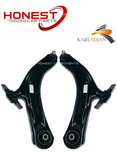 For NISSAN QASHQAI 07-11 FRONT SUSPENSION LOWER WISHBONE ARMS COMPLETE L//R X2