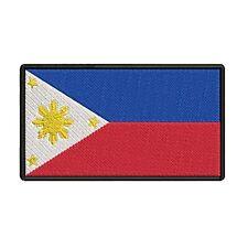 "Luzon Mindanao Visayas Iron on Manila Quezon 4.75/"" Philippines Patch"